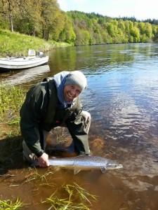 May Spring Fish at Dalmarnock Beat