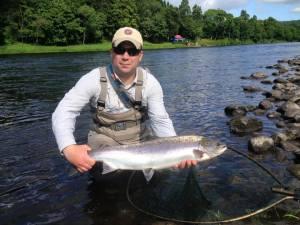 Newtyle beat salmon